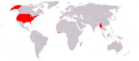 Países que aun no usan el sistema métrico decimal